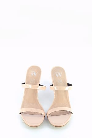 Nude High Heeled Sandal
