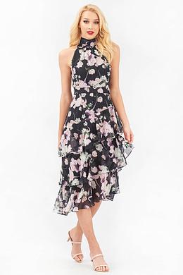 Soft Chiffon Floral Dress