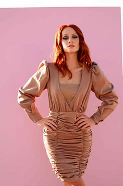 Lana Drape Dress