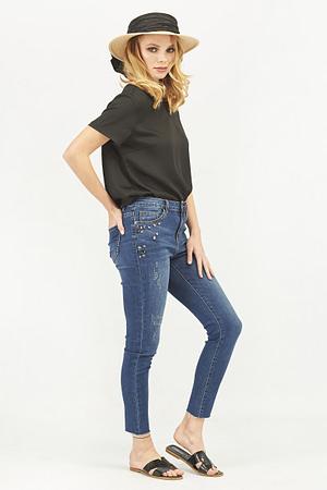 Skinny Jeans with Rhinestones