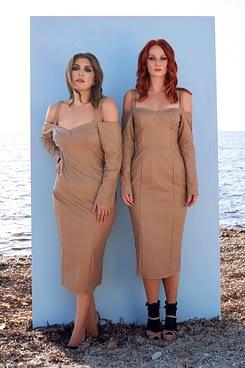 Brigitte Pencil Corset Dress