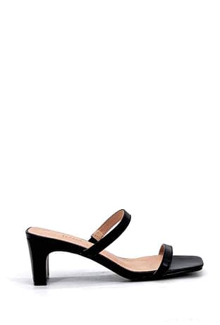 Black Mules with Heels