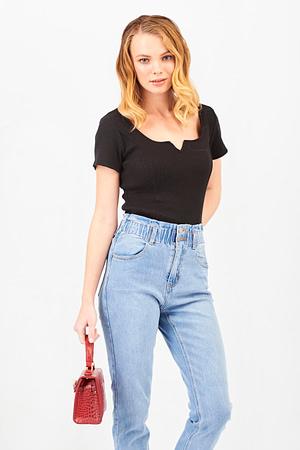 Crop Black T-shirt