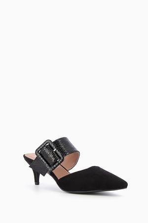 Noir Mules